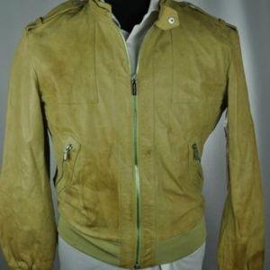 *Recent* VERSACE Italian Leather Jacket